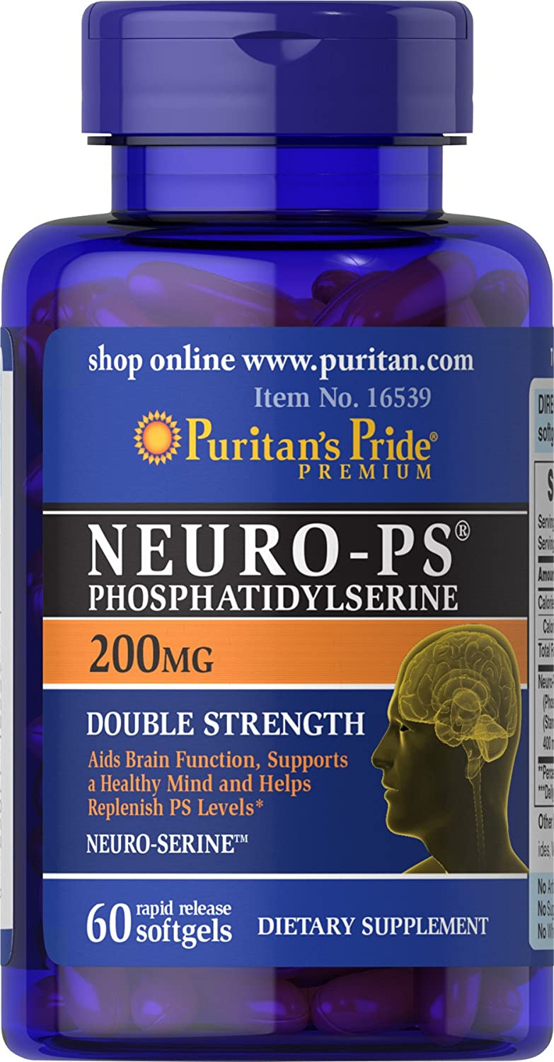 Puritans Pride Neuro-ps phosphatidylserine , 200 Mg, 60 Count