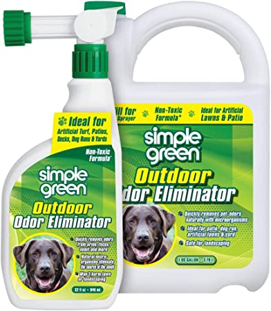 Simple Green Outdoor Odor Eliminator for Pets - Budget Pick