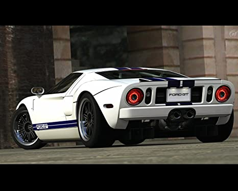 Amazon.com: Ford GT Póster de coche cartel decoración de ...