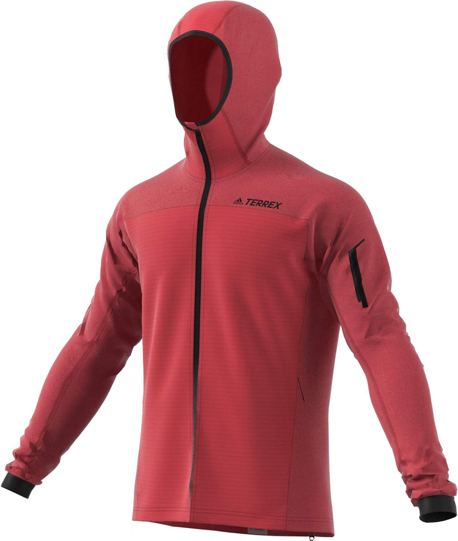 adidas Herren Stockh Ho FL Jk Sweatshirt Rojglo
