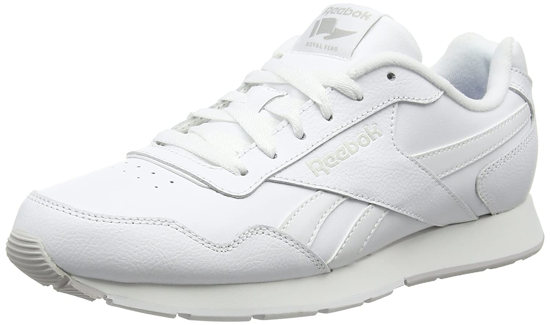 Reebok Royal Glide, Scarpe da Fitness Uomo Bianco (biancao (bianca   Steel   Reebok Royal)) | In Linea  | Scolaro/Signora Scarpa