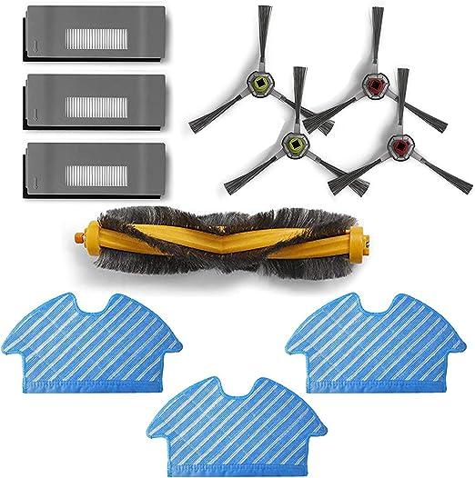 Zealing aspiradora recambios Accesorios Compatible con Ecovacs DE5G-KTA Deebot OZMO 900 901 Robot Aspirador: Amazon.es: Hogar
