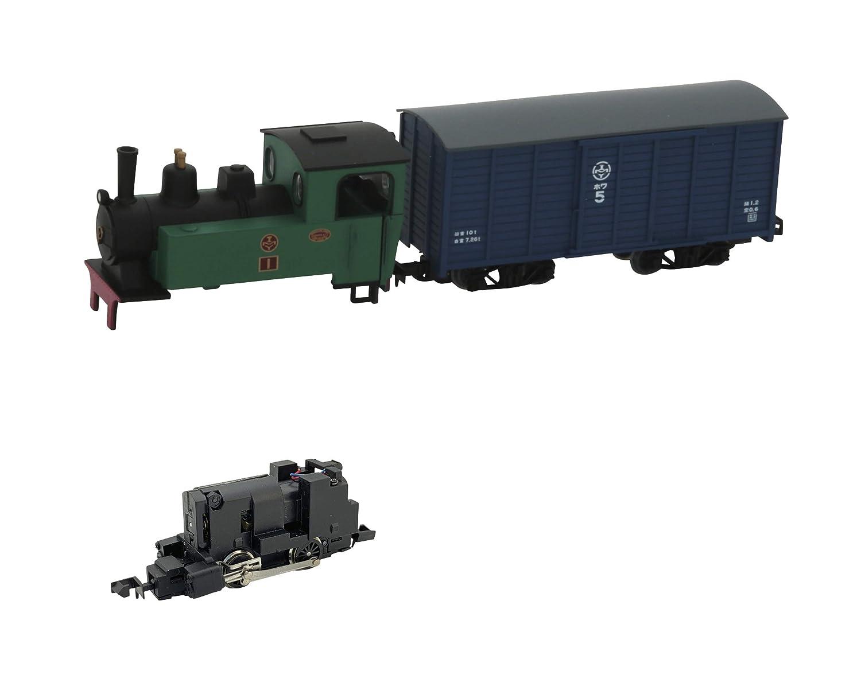 鉄道コレクション 鉄コレ ナローゲージ80 猫屋線 蒸気機関車 + 貨車 トータルセット ジオラマ用品 (メーカー初回受注限定生産)   B07JVGFRDV