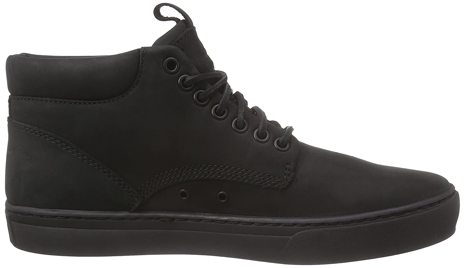 timberland all black
