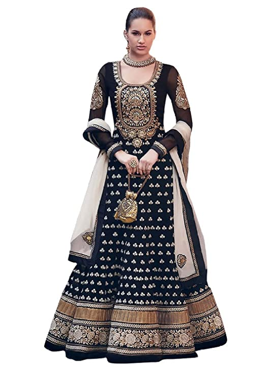Jevi Prints Womens Cotton Salwar Dress Material Priyanshi613 Blue