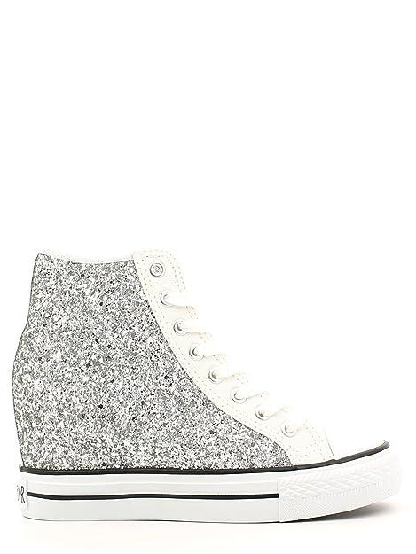 CAFÈ NOIR Sneaker donna running tipo all stars glitter