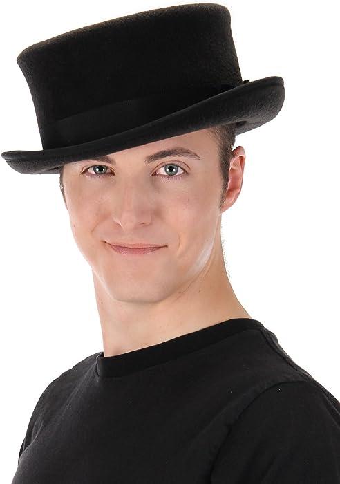 45bb73ccabc Elope John Bull Low Steampunk Top Hat in Black at Amazon Men s ...
