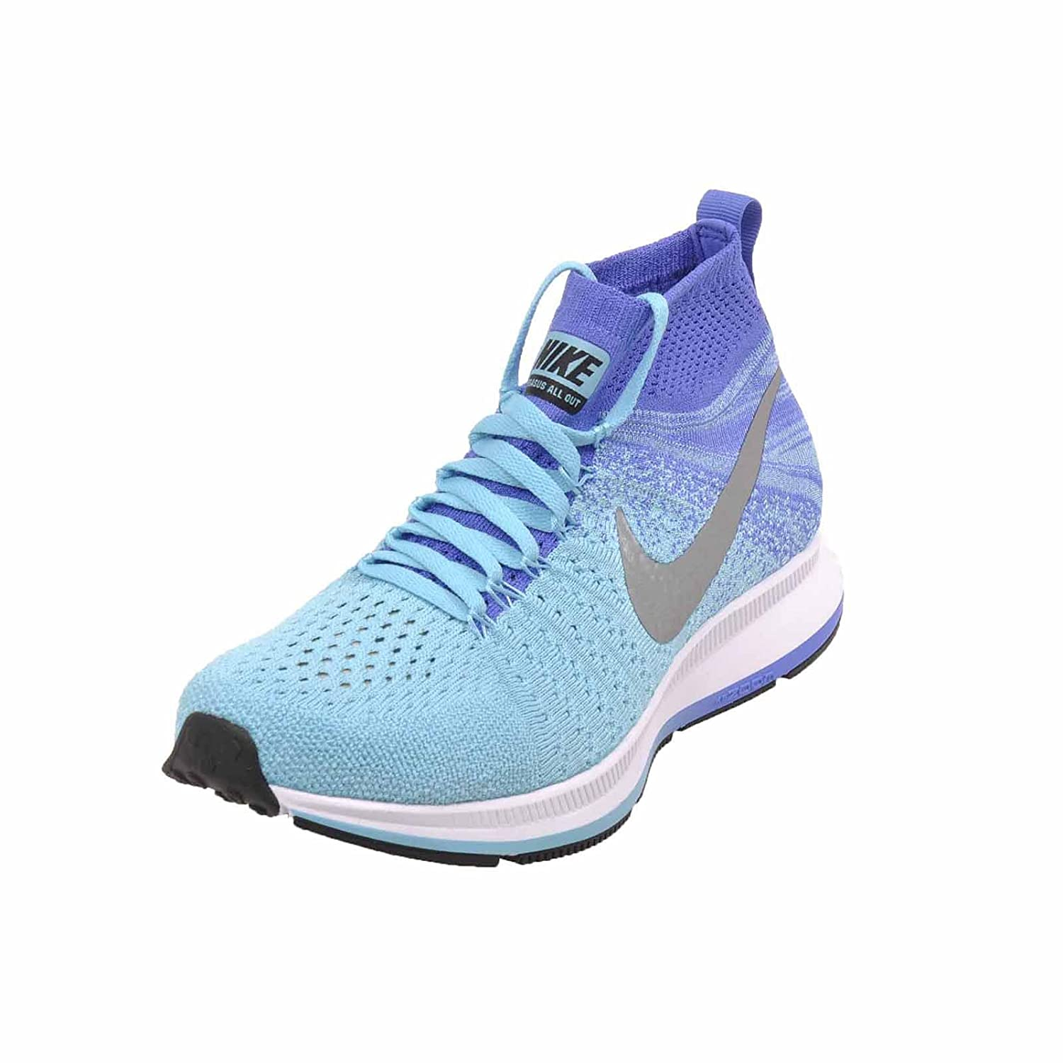 c5960bca289a Nike Zoom Pegasus All Out Flyknit Big Kids Running Shoe (5Y ...