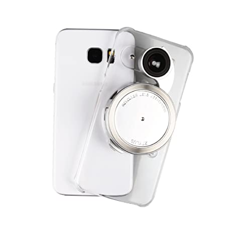timeless design 060b2 57d06 Ztylus Samsung Galaxy S7 Edge Clear Camera Kit for Smartphone Photo &  Video: Case, 4 in 1 Revolver Lens (Wide Angle, Macro, Fisheye, and CPL  Lenses)