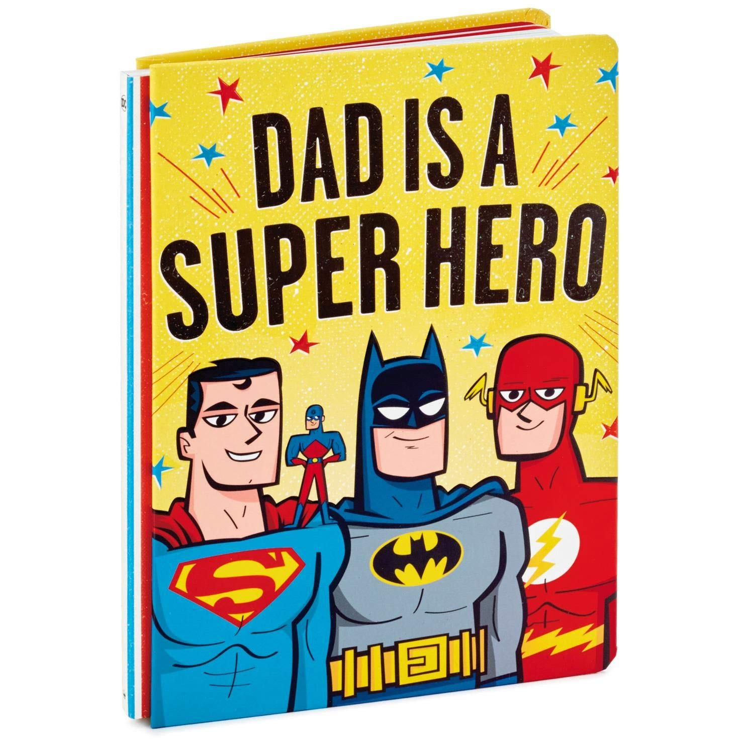 Hallmark Dad is a Super Hero Book Relationship Books Family Family /& Relationships
