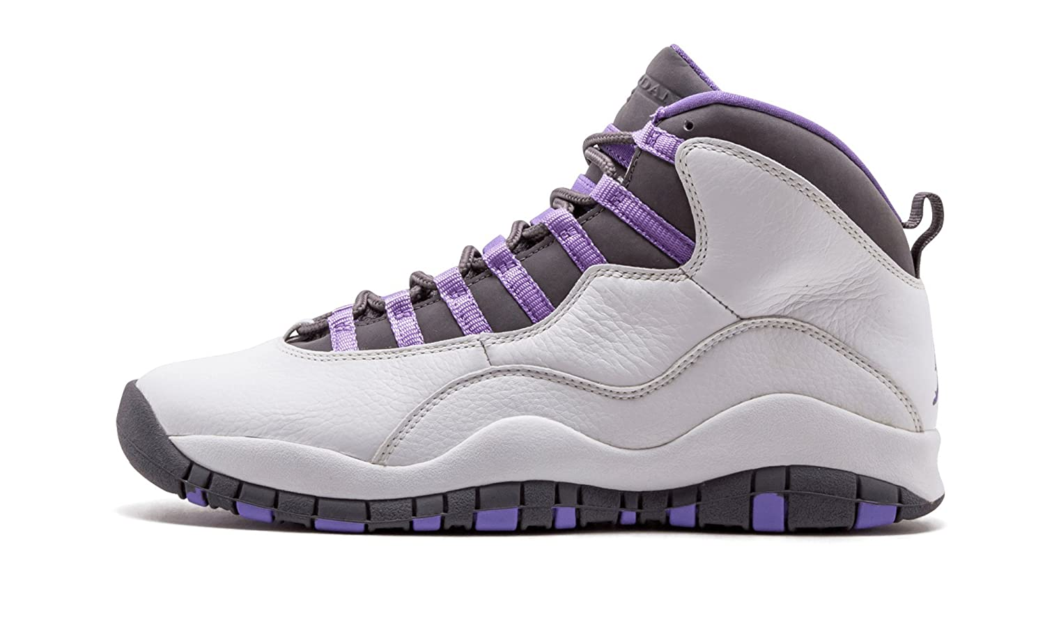the latest ad686 05ca5 Amazon.com | Women's Air Jordan 10 Retro White/Med Violet-Lt ...