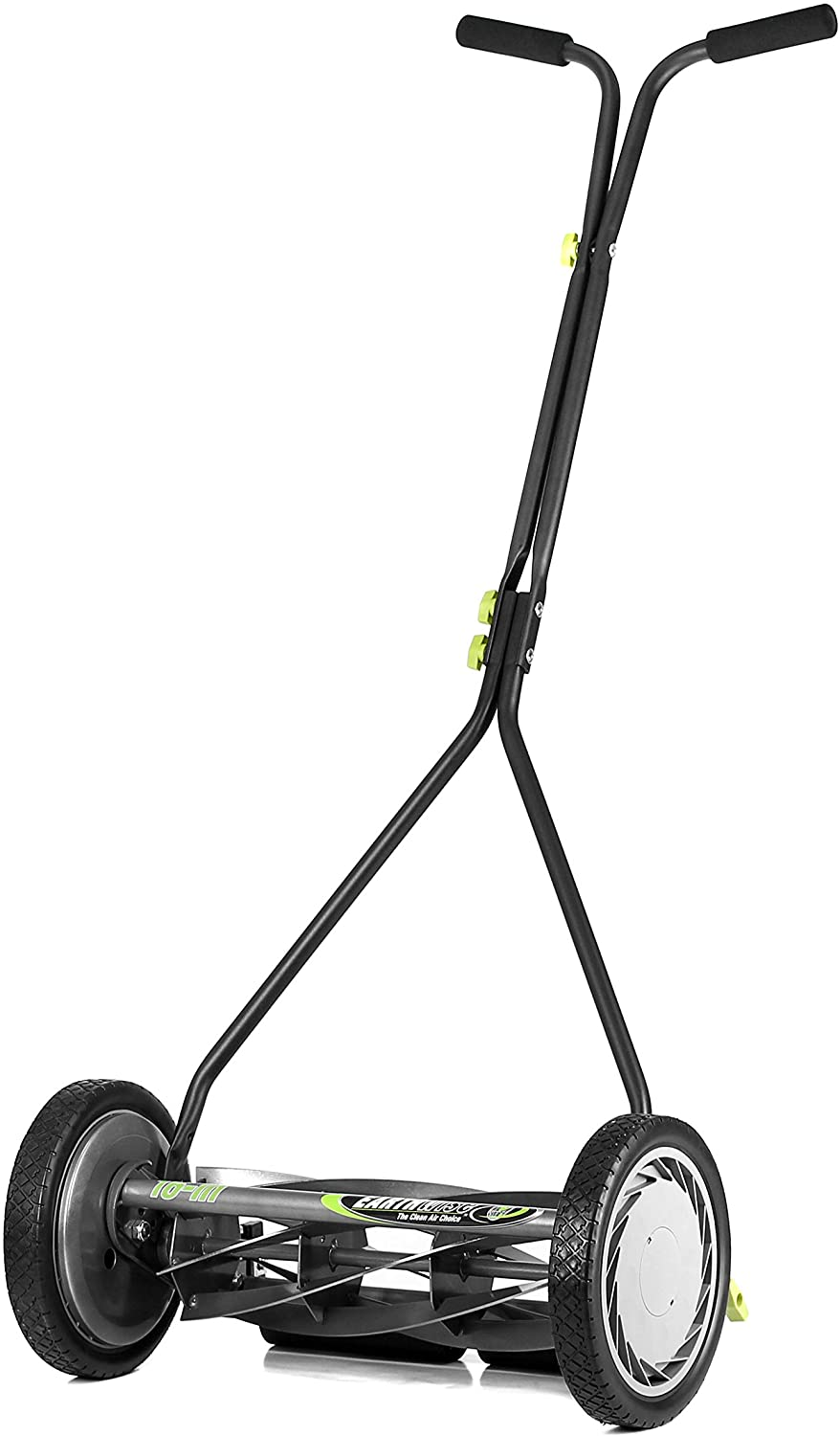 9. Earthwise 1715-16EW 16-Inch 7-Blade Push Reel Lawn Mower, Gray/Silver/Green