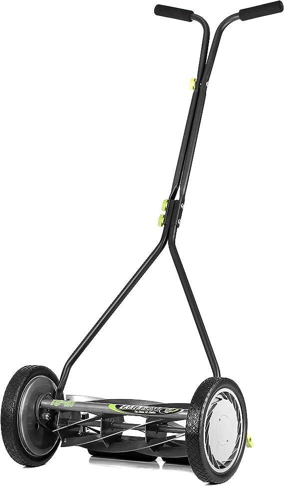 Earthwise 1715-16EW 16-Inch 7-Blade Push Reel Lawn Mower