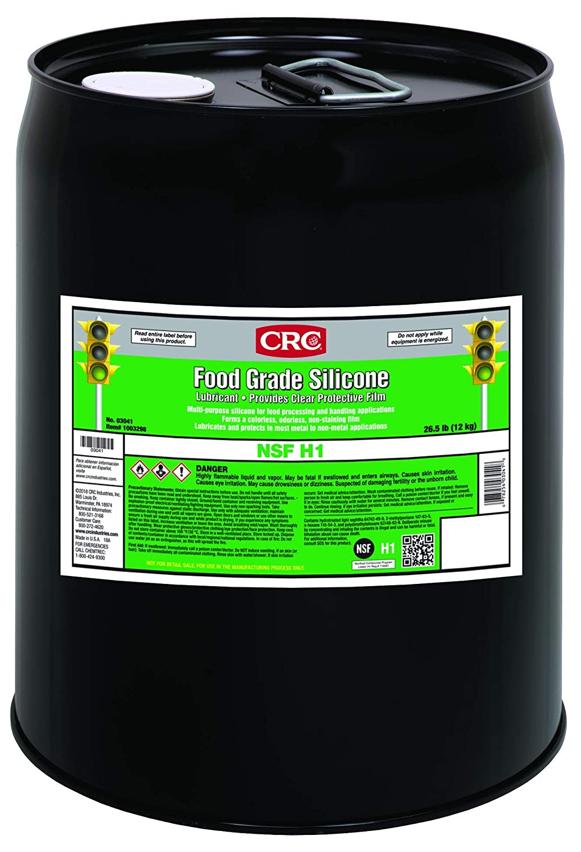 CRC Food Grade Silicone, 5 Gal, 03041