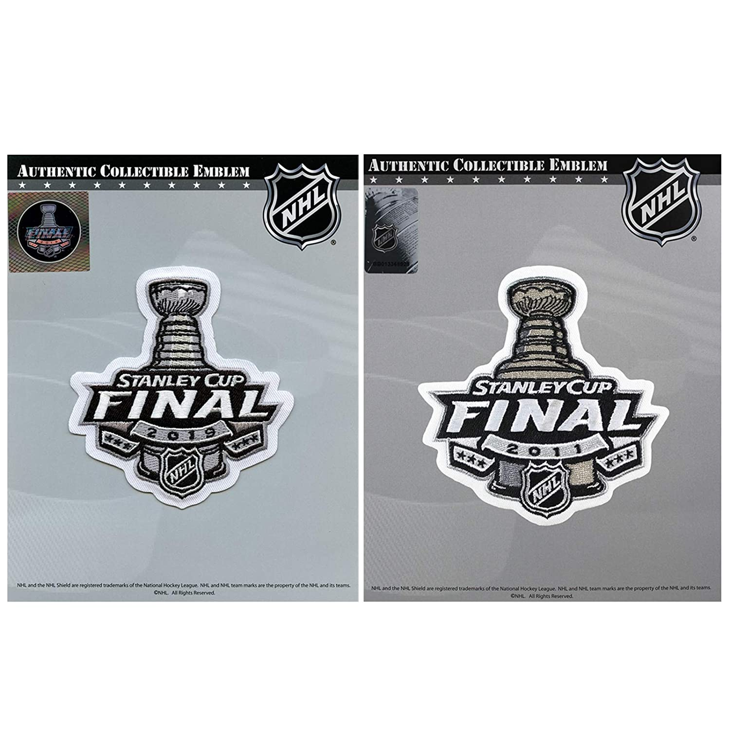 2019 Stanley Cup Final /& 2011 Jersey Boston Bruins Patch Combo