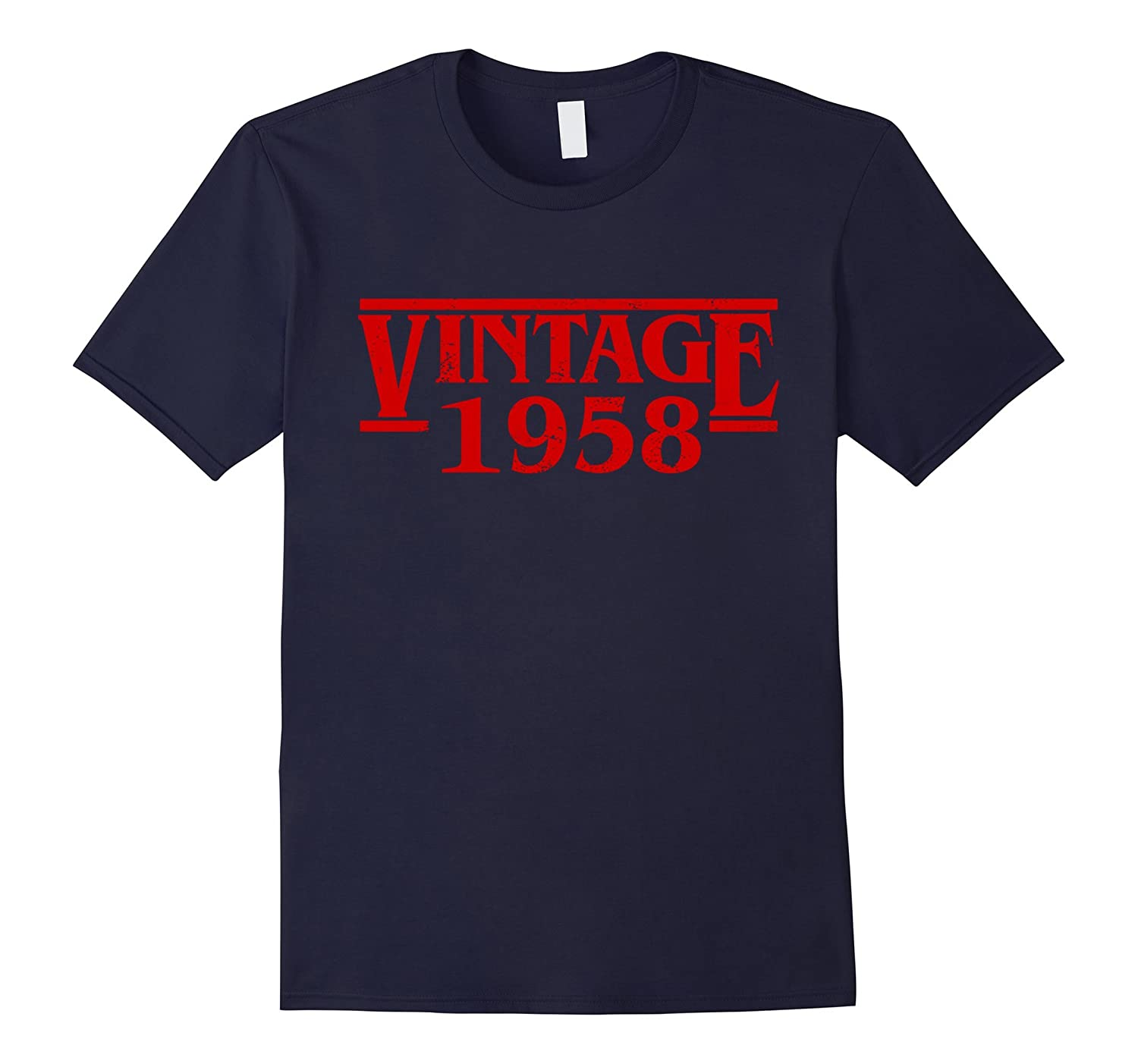 Vintage 1958-59th Birthday Funny T Shirt Gift for Christmas-ah my shirt one gift