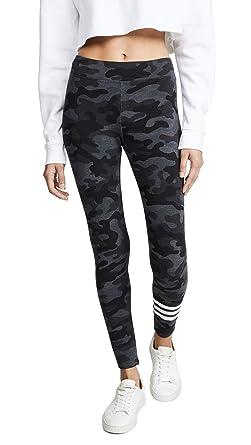 b76b903b3e6e Amazon.com: SUNDRY Women's Camo Leggings, Charcoal, Grey, Print, 3: Clothing