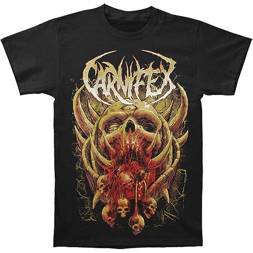 Carnifex Mens Monster Terror T Shirt Small Black