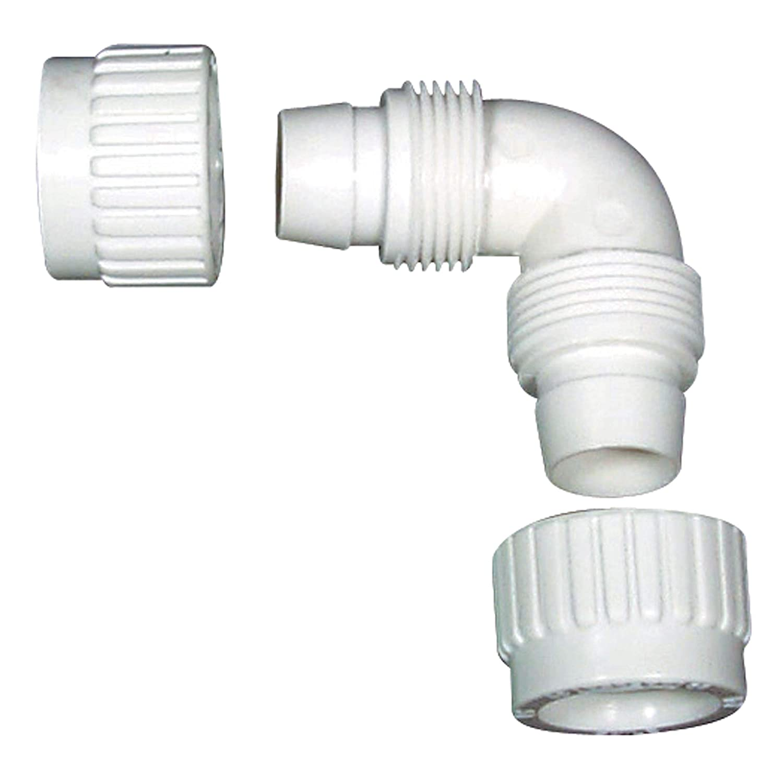 0.5 Size 0.5 Size Flair-It 16800 Plastic Elbow