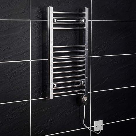 WarmeHaus Bergen - Secador de toallas, eléctrico, 700 x 400mm