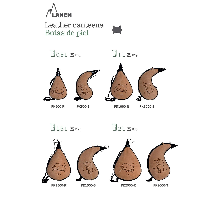 Amazon.com: Laken - Bota de vino de piel española: Sports ...