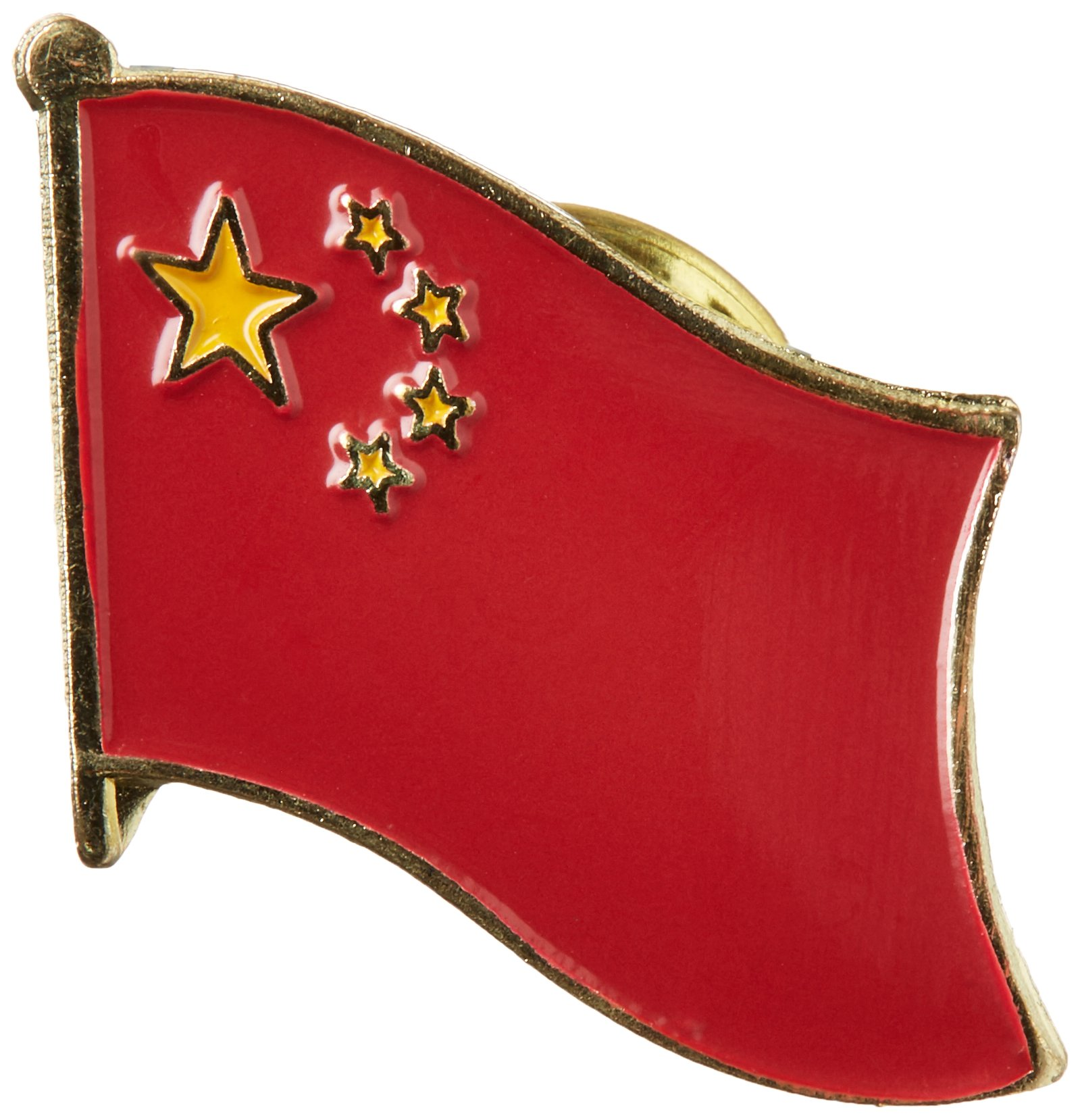 US Flag Store China Lapel Pin
