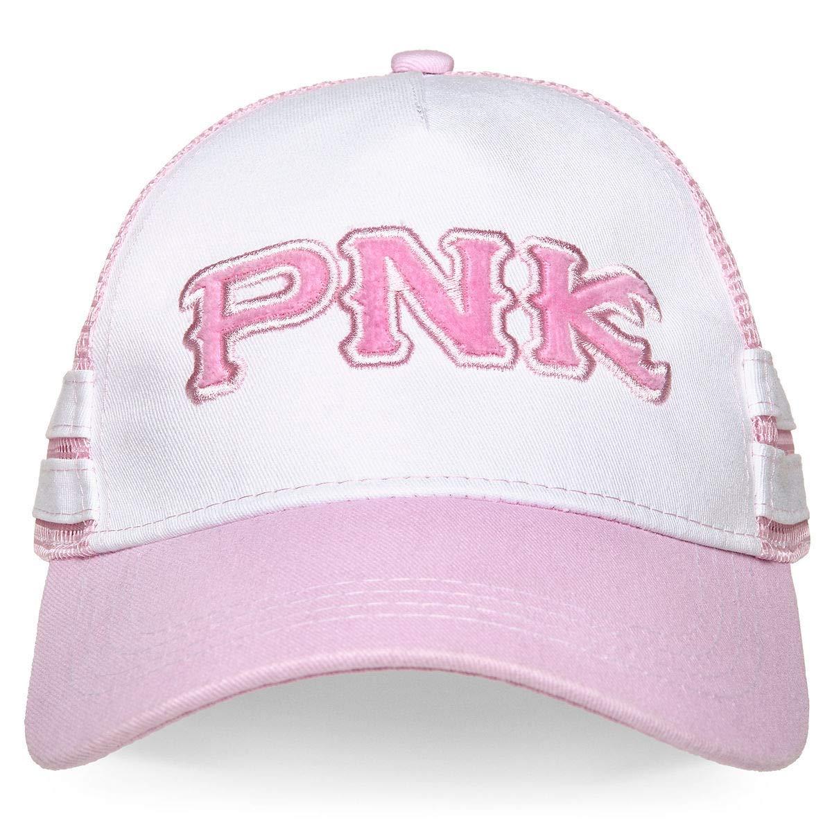 Disney Parks Monsters University Python Nu Kappa PNK Baseball Hat Cap Womens Pink