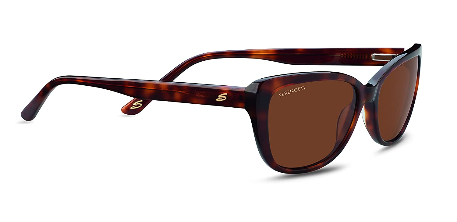 Serengeti Andrea Blue Tortoise Polarized Drivers Gradient