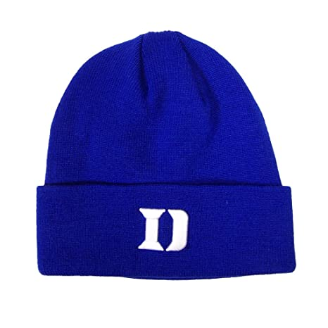 23bf24bc5a119 Amazon.com   Duke Blue Devils Official NCAA One Size Simple Cuffed Knit  Beanie Hat   Sports Related Collectibles   Sports   Outdoors