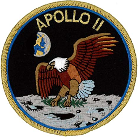 Apollo 17 Mission Embroidered Patch 10cm Dia approx Official Patch