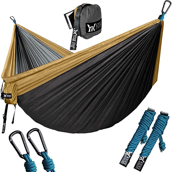 WINNER OUTFITTERS Double Camping Hammock - The Best Affordable Camping Hammock