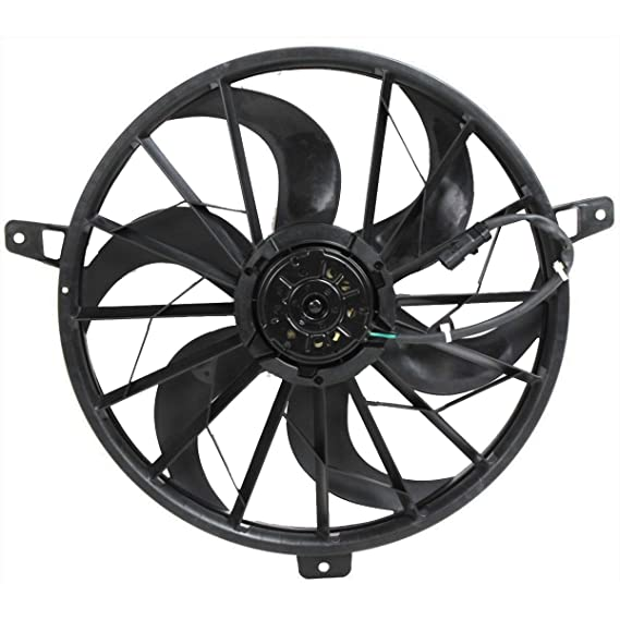 Amazon Com Radiator Cooling Fan For Jeep Fits Grand Cherokee