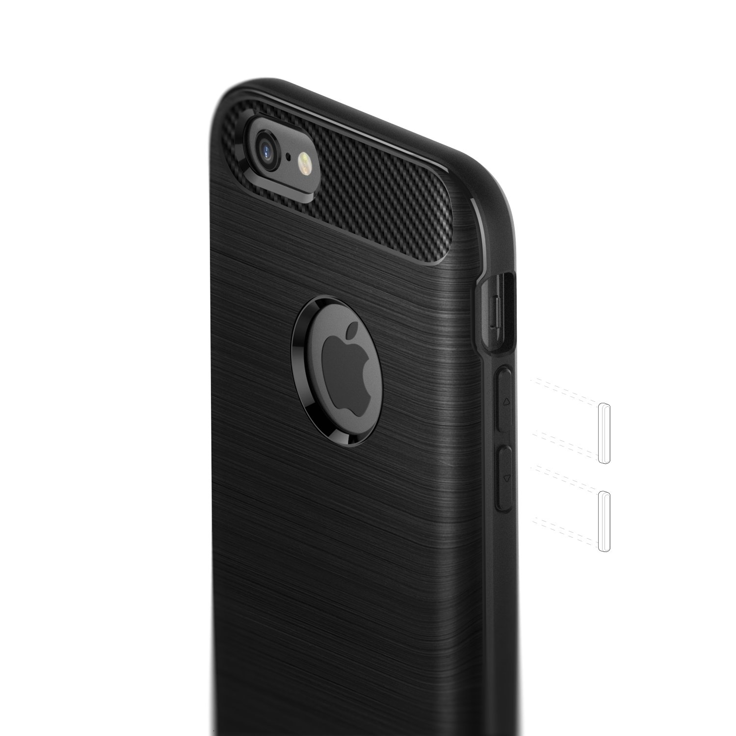 Caseology Vault for iPhone 6S Case (2015)   iPhone 6 Case (2014) - Rugged  Matte Finish - Black  Amazon.ca  Cell Phones   Accessories 49477f414f32d