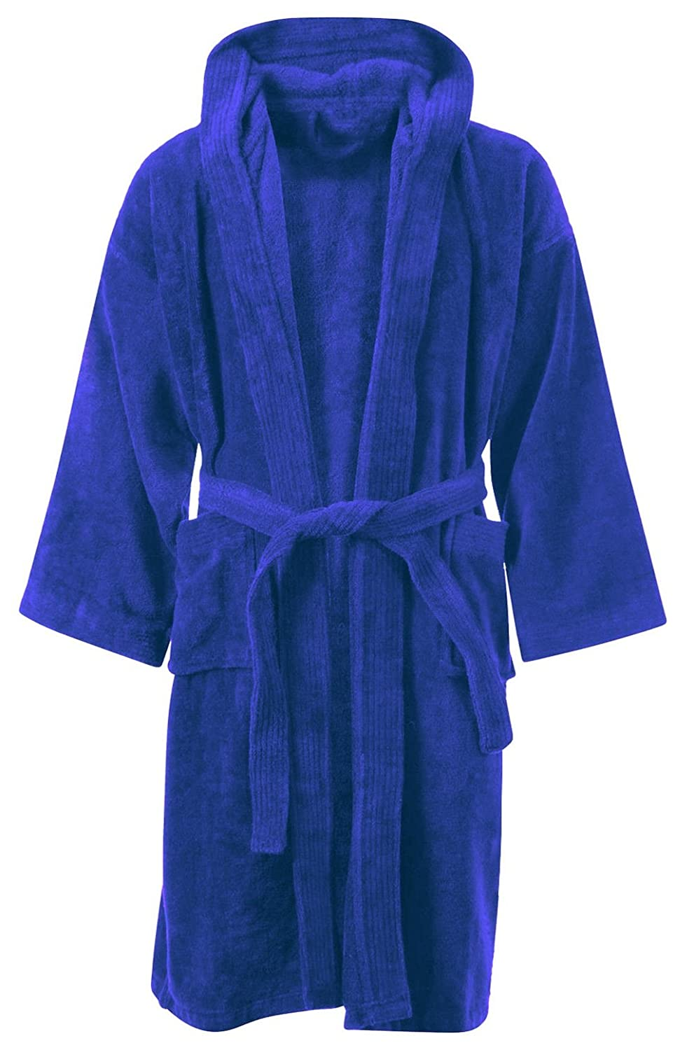 Amazon.com   Kids Boys Girls Bathrobe 100% Egyptian Cotton Luxury Velour  Towelling Hooded Dressing Gown Soft FINE Comfortable Nightwear Terry Towel  Bath ... 13a89a4c8