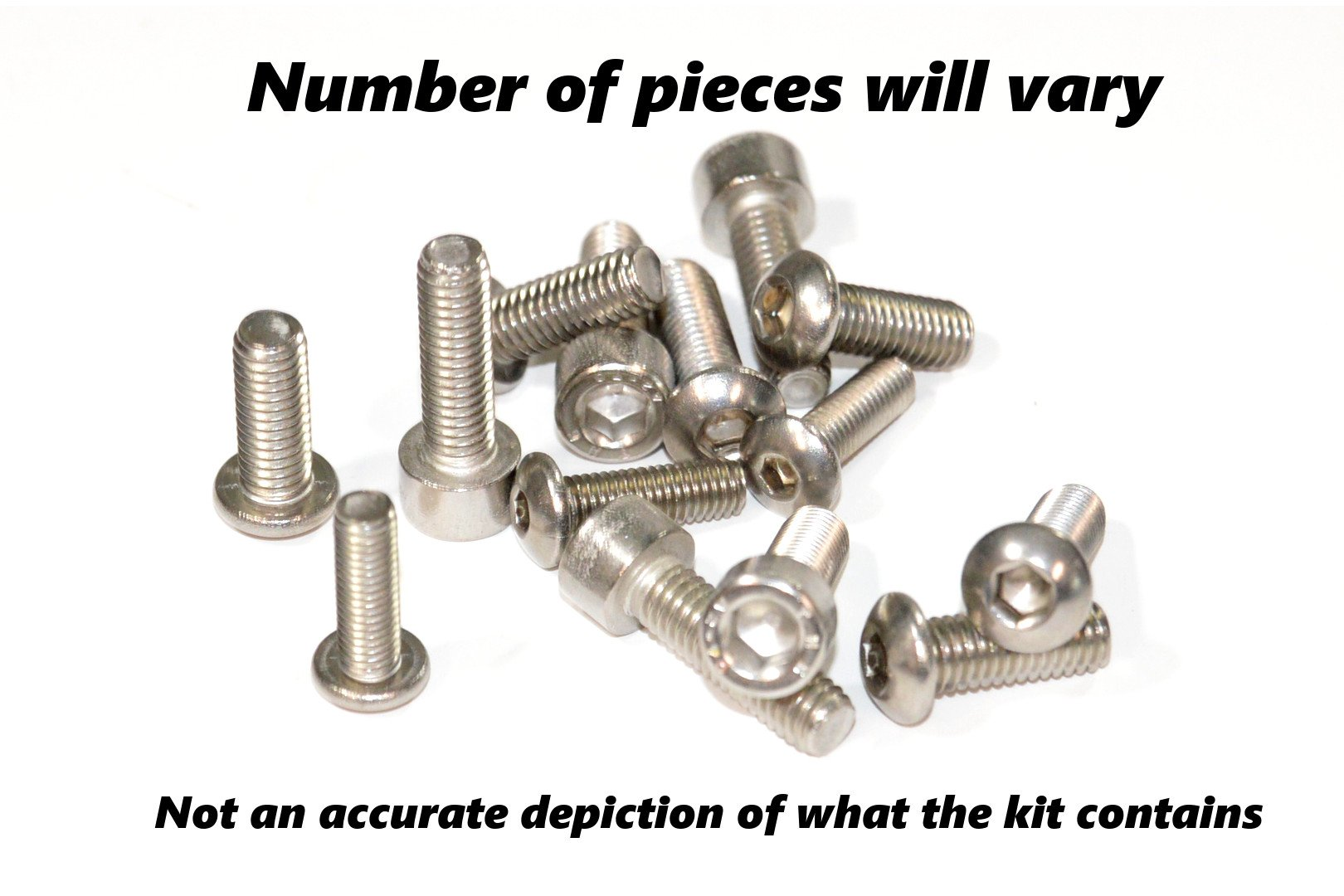 Complete Motorcycle Fairing Bolt Kit Yamaha 2004 - 2006 YZF-R1 Body Screws, Fasteners, and Hardware by Bike Boltz (Image #5)