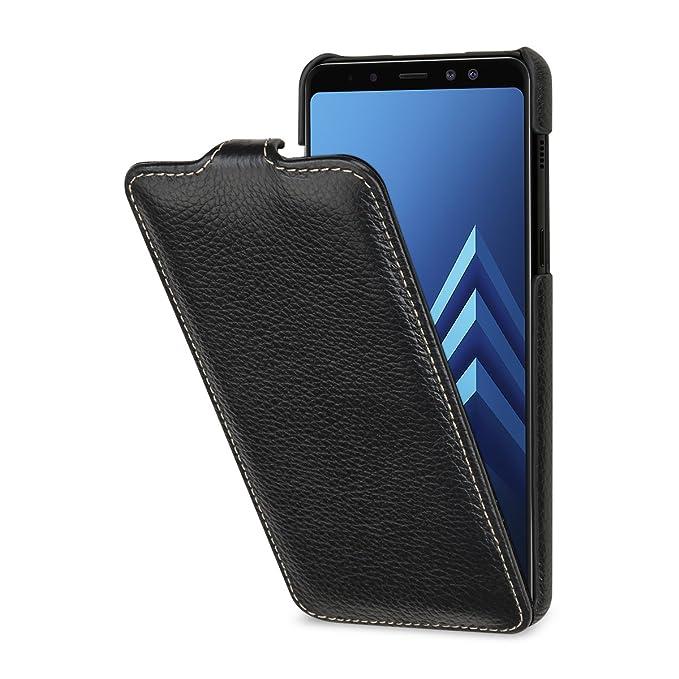 best service 991f9 60d56 Amazon.com: StilGut Samsung Galaxy A8 (2018) Case. Slim Vertical ...