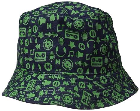 e0812d9d Kangol Men's Music Reversible Bucket, Navy/Vert Large at Amazon Men's  Clothing store: