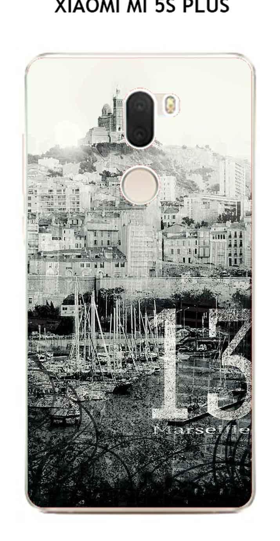 Onozo Carcasa Xiaomi Mi 5s Plus Design Marsella City: Amazon ...