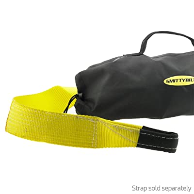 "Smittybilt 2791 Tow Strap Storage Bag only for 3"" x 30' Recovery Strap: Automotive"