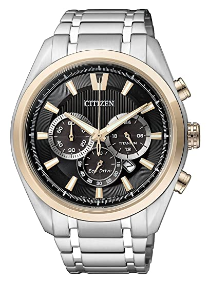 Amazon.com: Citizen Mens Eco-Drive Chronograph Watch Quartz Mineral Crystal CA4014-57E: Watches