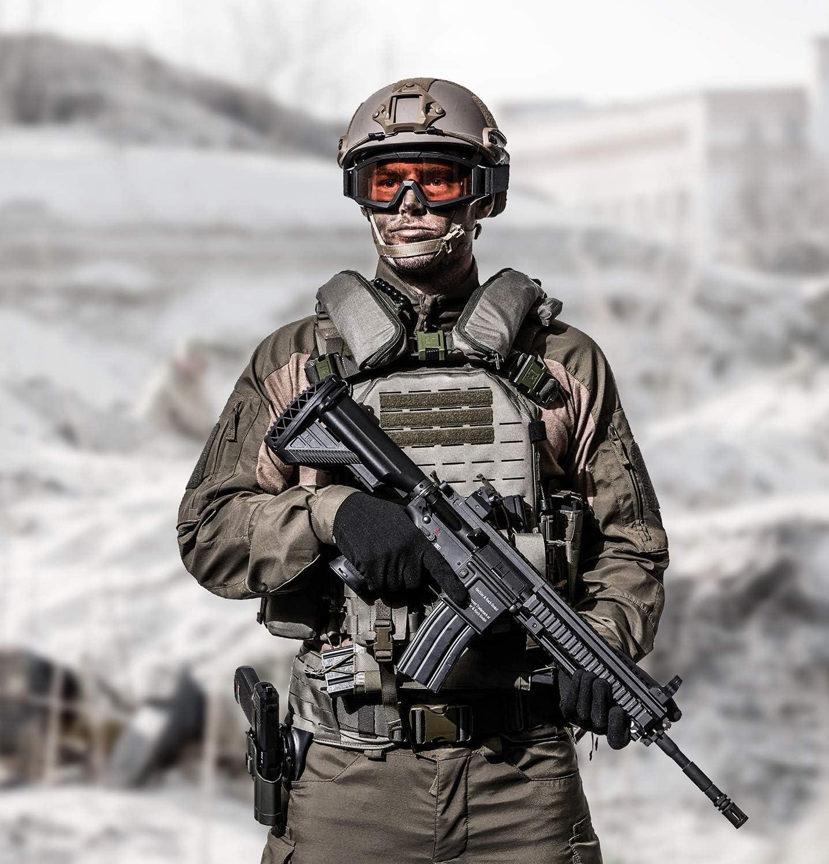 Uvex Apache Lunettes de protection pour tir aux normes militaires