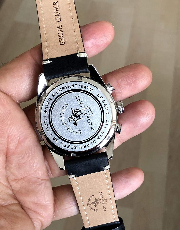 Santa Barbara Polo Racquet Club SB.7.1123.2 Reloj de Pulsera para ...