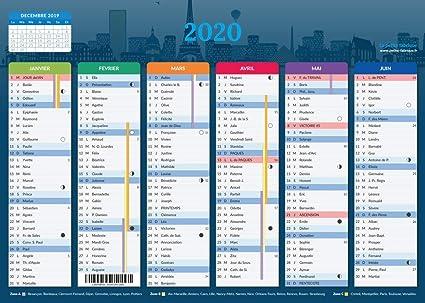 Calendrier 202016 A Imprimer.Calendrier 2020 Format A4 Papier Epais Prevu Pour L Ecriture