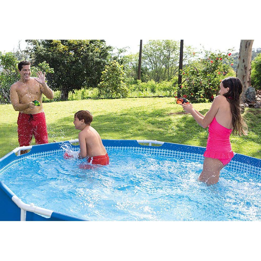Amazon.com : Intex 12ft X 30in Metal Frame Pool Set With Filter Pump :  Garden U0026 Outdoor