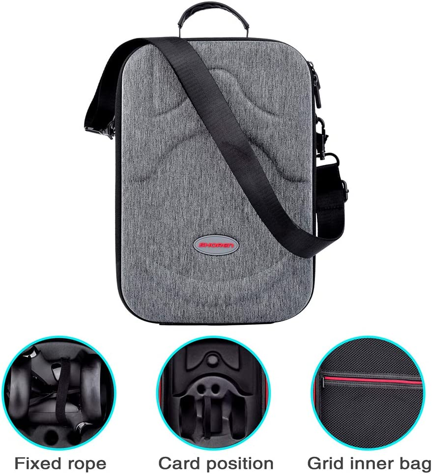Hard Travel Case for Oculus Quest VR Gaming Headset and Controllers Accessories Waterproof Shockproof Carring case