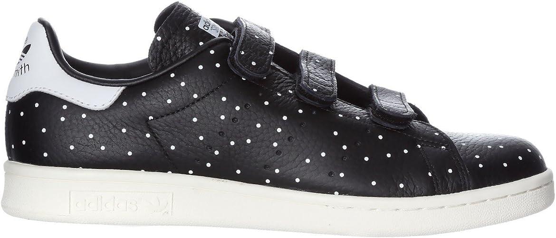 Adidas Women S Stan Smith Cf W Black White Bb5146 Size 5 Amazon Ca Shoes Handbags