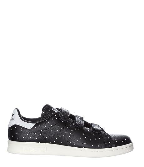 new style 40f01 c2b17 Adidas Women's Stan Smith CF W Black/White BB5146 (Size: 5 ...