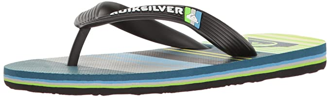 54e8cd569 Quiksilver Boys  Molokai Everyday Stripe Youth Flip Flop
