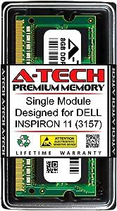 A-Tech 8GB RAM for DELL INSPIRON 11 (3157) | DDR3 1600MHz SODIMM PC3-12800 204-Pin Non-ECC Memory Upgrade Module