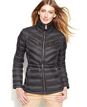 e177a0fb79b2 MICHAEL Michael Kors Packable Quilted Cinchable Down Puffer Coat (Small)